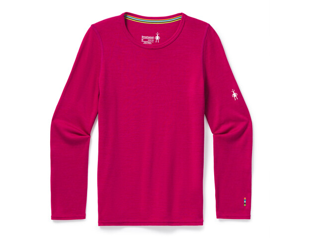 Smartwool Merino 250 Camiseta Interior Niños, rosa